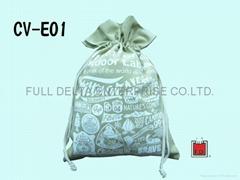 Canvas String-drawn Bags