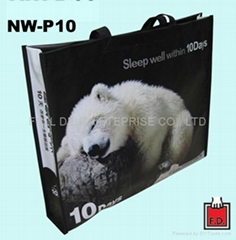 OPP non-woven bag for bedquilt
