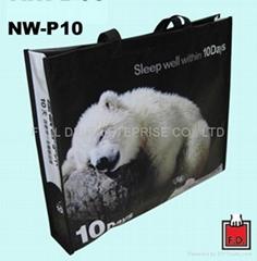 OPP non-woven bag for bedquilt