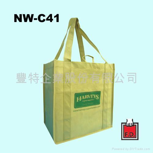 不織布立體型環保袋 (賣場適用)