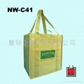 不织布立体型环保袋 (卖场适用