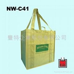 不织布立体型环保袋 (卖场适用)