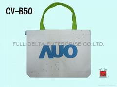 底型帆布環保袋 / 帆布贈禮品袋 ( 科技業者AUO)