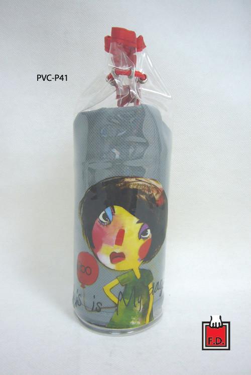 圆桶束口PVC袋