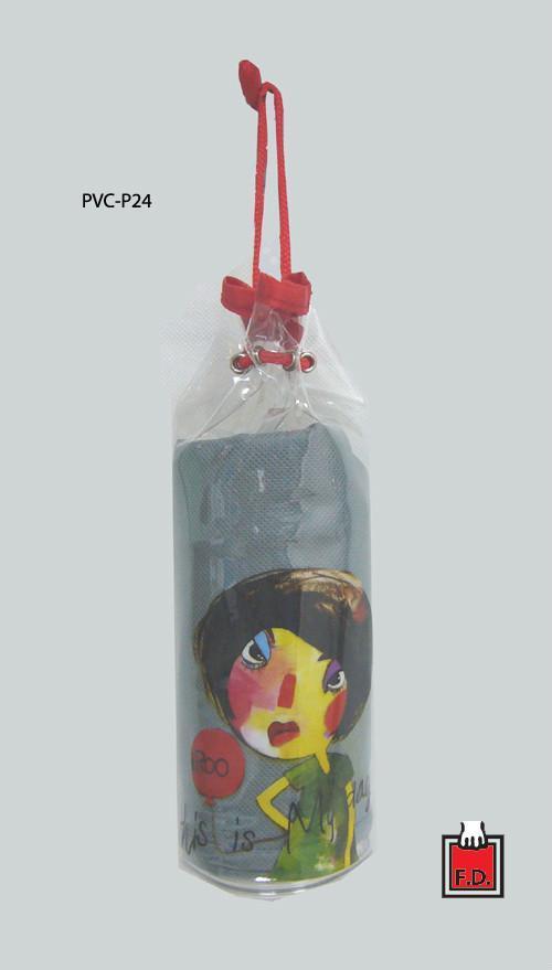 圓桶束口PVC袋