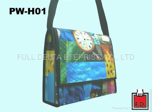 編織布/ 不織布書包型環保袋