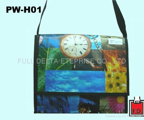 编织布/ 不织布书包型环保袋