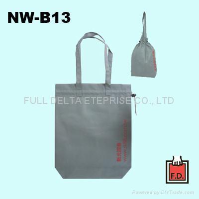 手提束口不織布環保袋 ( 保險人壽業者 )