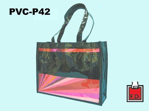 亮面PVC購物袋