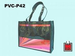 亮面PVC购物袋