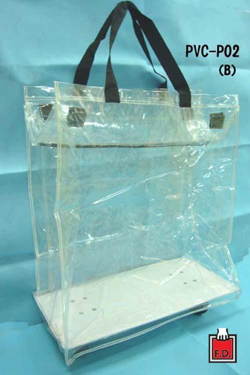 摺疊收納拖輪PVC袋 / 贈品禮品袋