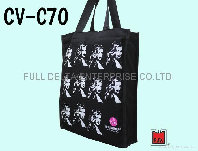 帆布环保购物袋 / 赠礼品袋 (义大世界)