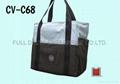 帆布兩色拼接環保袋(水泥公會)