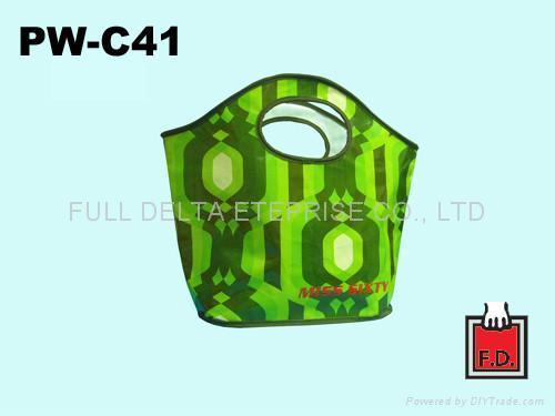 圓孔造型編織環保袋