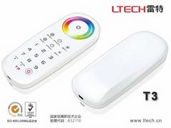 RGB控制器  2.4G无线控制器 七彩灯带控制器