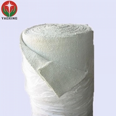 fireproof pipe insulation stainless steel wire refractory ceramic fiber cloth