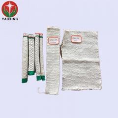 ceramic fiber fabric for steam pipe insulation