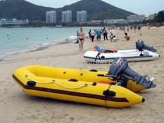 2.3 Meter-5 Meter:Inflatable Boat outboard motor outboard engine (Hot Product - 1*)