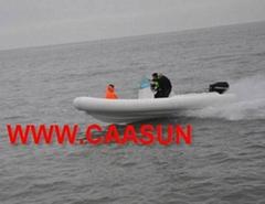 RIB boat ( 4.2 - 4.7 Met