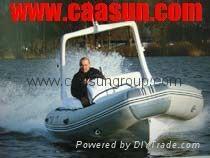 RIB boat (5.0-6.0 meter)