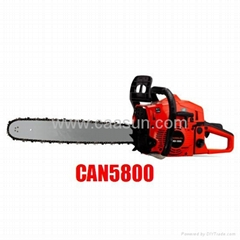 Gasoline Chain saw 58 cc