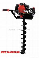Gasoline Ice auger 49cc ground drill