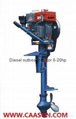 Diesel outboard motor  d
