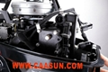 outboard engine  9.8hp