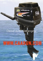 Diesel Outboard motor 10 hp 4 Stroke (Manual Start)