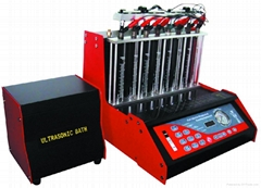 8 cylinders fuel injector tester & cleaner