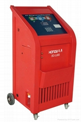 Fully automatic refrigerant recovery & recycling machine