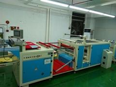 PVC sheet automatic slicer flattening
