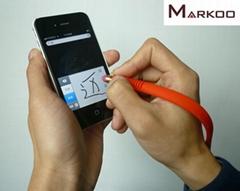 手環觸控筆 硅膠手環電容筆 硅膠觸屏筆手腕筆