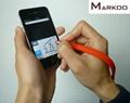 手環電容筆 硅膠手環觸控筆 觸屏筆手環 4