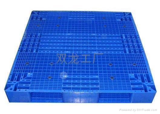 冷庫用熟料雙面塑料托盤1212   1