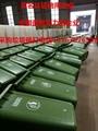 廊坊宜興市價格便宜的120升兩輪手推分類塑料垃圾桶   3