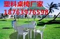 新沂市促销活动婚庆演出租赁用塑料方桌   3
