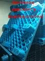 倉庫防潮板單面九腳塑料托盤1210   3