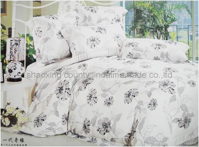 100% cotton hometextile bedding set  5