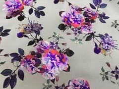 3D  foil   transfer printing fabric