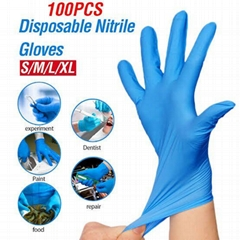 CIVILIAN  Nitrile gloves powder-free Nitrile disposable glove,