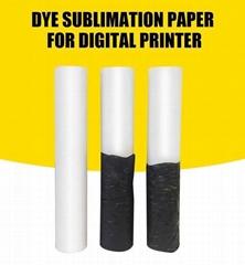 sublimation transfer  digital printing paper  in rolls