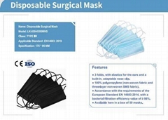 3- 4 Layer Surgical Grade Face Mask