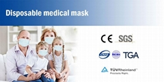 Surgical Grade  3Layer  Face Mask