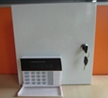 8 wired and 16 wireless alarm zones alarm control panel.ASC-816T 2