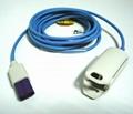 LOHMEIER Adult finger clip SpO2 sensor