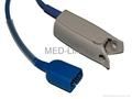 Adult finger clip SpO2 sensor compatible