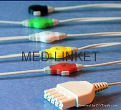 Disposable ECG cable