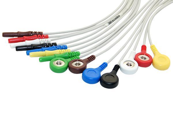 Holter ECG電纜引線 1