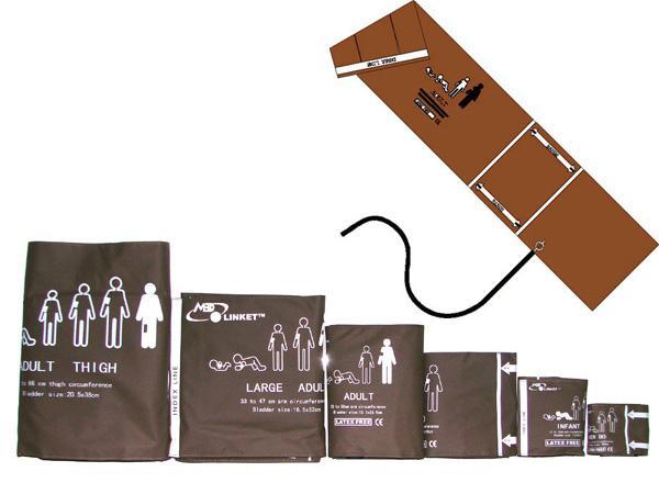 Eagle/Dash/Tram Non Invasive Blood Pressure(NIBP) cuffs and tubes 2
